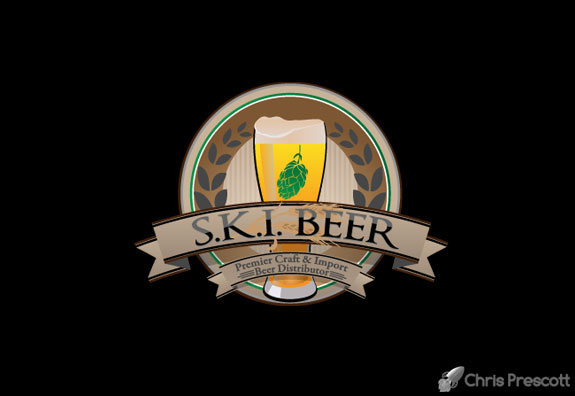 Ski Beer Official Logo Design