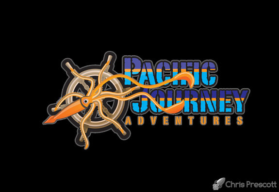 Pacific Journeys Adventures Official Logo