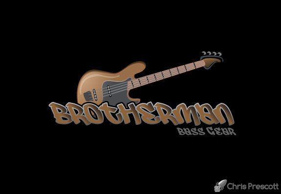 Official Logo Brotherman Bass Gear